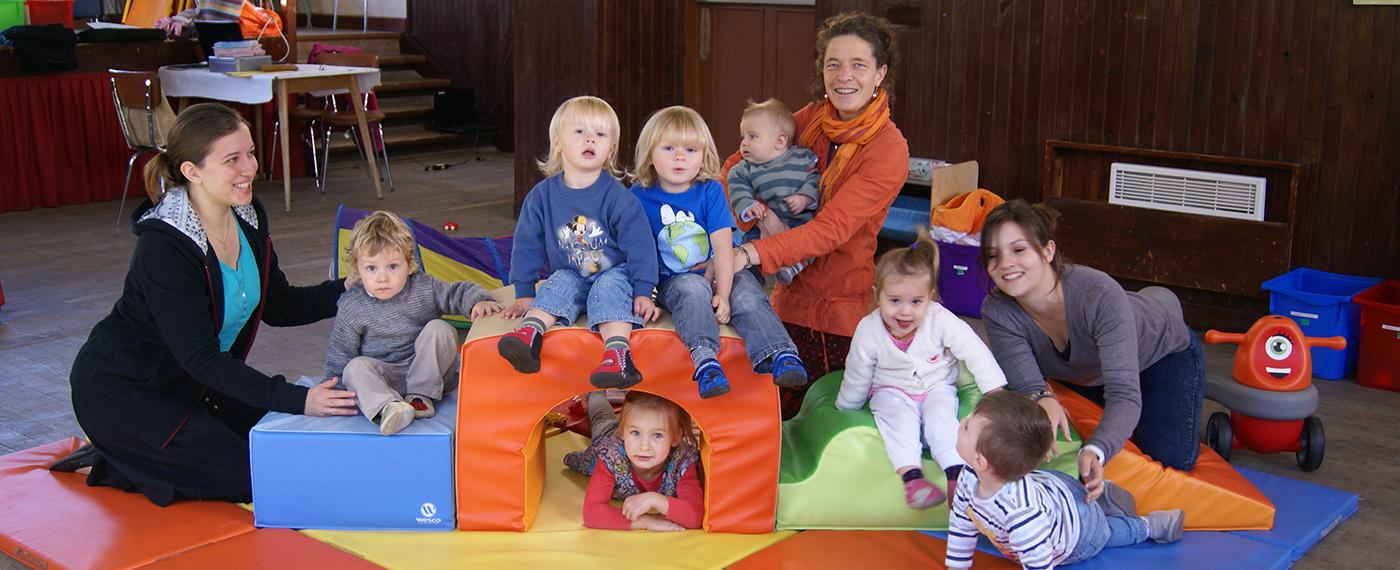 Des services petite enfance : Louloubus et Louloucrèche